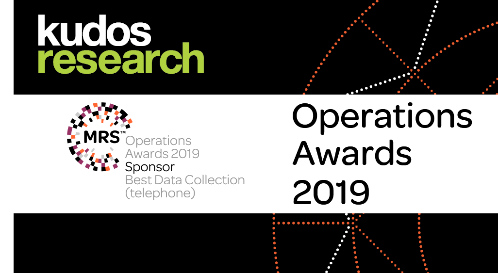 Kudos Research is a proud sponsor of <span>MRS Operations Awards 2018</span>